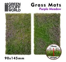 GSW - Grass Mat Cutouts - Purple Meadow