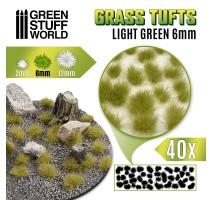 Grass tufts 6mm – Light Green