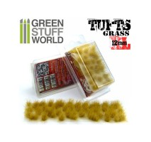 Grass tufts 12mm XL – dry yellow