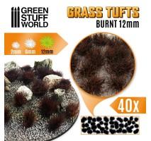 Grass tufts 12mm XL – Burnt Brown