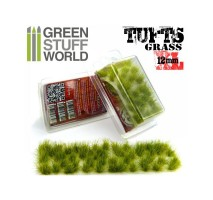 Grass tufts 12mm XL – realistic green