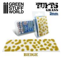 GSW - Grass tufts 2mm – BEIGE
