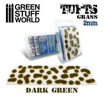 GSW - Grass tufts 2mm – DARK GREEN