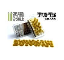 GSW - Grass tufts 6mm – dry yellow