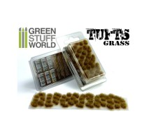 Grass tufts 6mm – dry brown