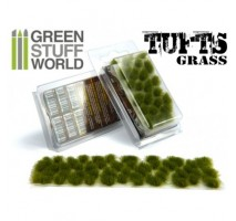 Grass tufts 6mm – dry green
