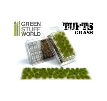 Grass tufts 6mm – realistic green