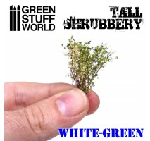 GSW - Tall Shrubbery - White/Green