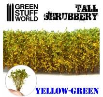 GSW - Tall Shrubbery - Yellow/Green