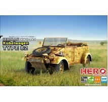 Hero Hobby H35002 - 1:35 German Pkw Typ K1 Kubelwagen Type 82