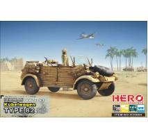 Hero Hobby H35004 - 1:35 Kubelwagen Type82 (Africa Korps)