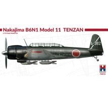 HOBBY 2000 72015 - 1:72 Nakajima B6N1 Model 11 Tenzam