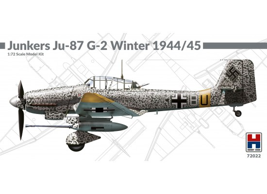 HOBBY 2000 72022 - 1:72 Junkers Ju-87 G-2 Winter 1944/1945