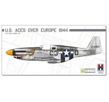 HOBBY 2000 72024 - 1:72 P-51B Mustang US Aces over Europe