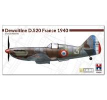 HOBBY 2000 72025 - 1:72 Dewoitine D.520 France 1940