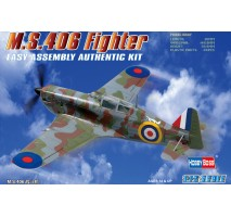 Hobby Boss 80235 - 1:72 Ms.406 Fighter