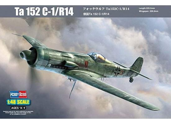 Hobby Boss 81703 - 1:48 Focke-Wulf Ta-152 C-1/R14