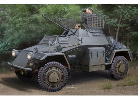 Hobby Boss - Macheta blindat German Sd.Kfz.222 (1st Series) 1:35
