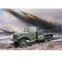 Hobby Boss - Macheta lansator racheta rusesc BM-13N Katyusha 1:35