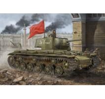 Hobby Boss - Macheta tanc rusesc KV-1 tank 1942 1:48