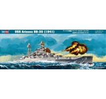 Hobby Boss 86501 - 1:350 Arizona BB-39 (1941)