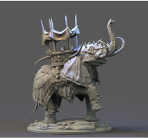 Hobby Custom 008 - Elephant War Mount