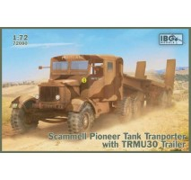 IBG 72080 - 1:72 Scammell Pioneer Tank Transporter with TRMU30