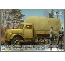 IBG 72074 - 1:72 V3000S/SSM Maultier w/ tall cargo bed & tarpaulin