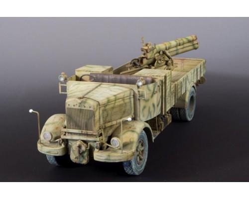 IBG 35053 - 1:35 Lancia 3Ro Italian Truck + 100mm Howitzer