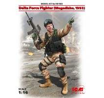 ICM 16103 - 1:16 Delta Force Fighter (Mogadishu, 1993) (100% new molds)