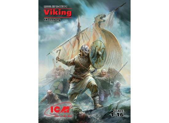 ICM 16301 - 1:16 Viking (IX century) (100% new molds)