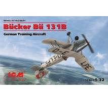 ICM 32031 - 1:32 Bucker Bu 131B, German Training Aircraft