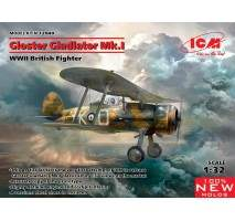 ICM 32040 - 1:32 Gloster Gladiator Mk.I, WWII British Fighter