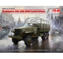 ICM 35510 - 1:35 Studebaker US6 with WWII Soviet Drivers