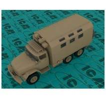 ICM 35518 - 1:35 ZiL-131 Emergency Truck. Soviet Vehicle