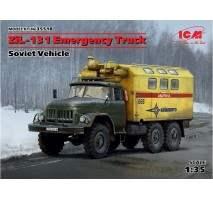 ICM - Macheta camion sovietic de interventie ZIL-131 1:35