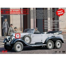 ICM 35531 - 1:35 Mercedes-Benz G4 (1939 production) German Car