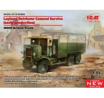 ICM 35602 - 1:35 Leyland Retriever General Service (early production) (100% new molds)