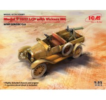 ICM 35607 - 1:35 Model T 1917 LCP with Vickers MG, WWI ANZAC Car