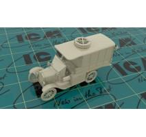 ICM 35665 - 1:35 Model T 1917 Ambulance (early), WWI AAFS Car