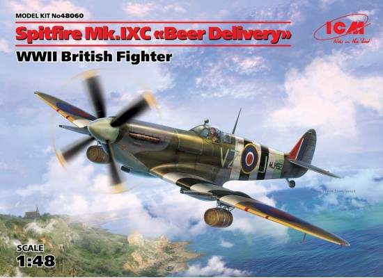 ICM 48060 - 1:48 Spitfire Mk.IXC 'Beer Delivery', WWII British Fighter