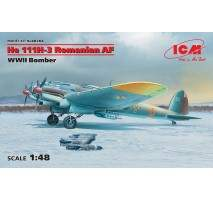 ICM 48266 - 1:48 He 111H-3 Romanian AF, WWII Bomber (100% new molds)