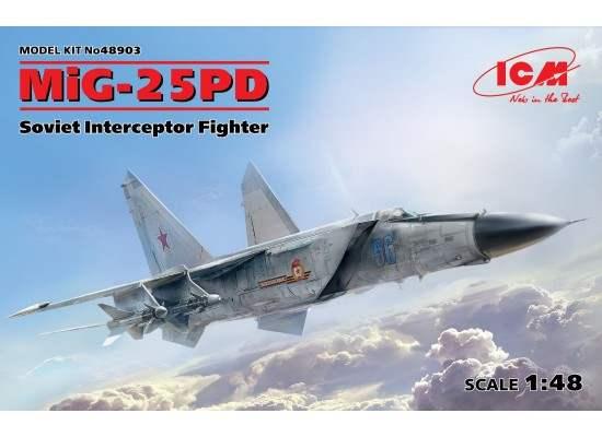 ICM 48903 - MIG-25 PD Soviet Interceptor 1:48