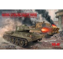 ICM DS3506 - 1:35 Battle of Berlin (April 1945) (T-34-85, King Tiger)