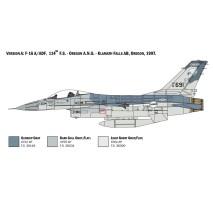 Italeri 2786 - 1:48 F-16A