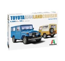 Italeri 3630 - 1:24 TOYOTA Land Cruiser BJ44 Soft Top/Hard Top