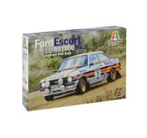 Italeri 3650 - 1:24 Ford Escort RS 1800 Mk.II Lombard RAC Rally