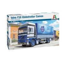 Italeri 3945 - 1:24 VOLVO F16 GLOBETROTTER CANVAS TRUCK W/ELEVATOR