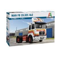 Italeri 3946 - 1:24 MAN 19.321 2 AXLE TRACTOR