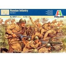 Italeri 6057 - 1:72 WW2 - RUSSIAN INFANT RY - 46 figures